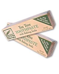 ティーツリーオイル配合トゥ-ペースト(歯磨き粉)